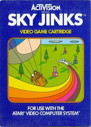 Cover for Sky Jinks.