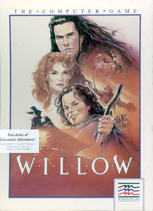 Cover for Willow.