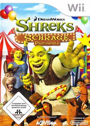 Cover for Shrek's Carnival Craze.