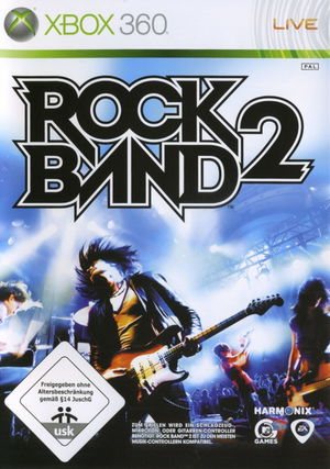 Cover for Rock Band 2.