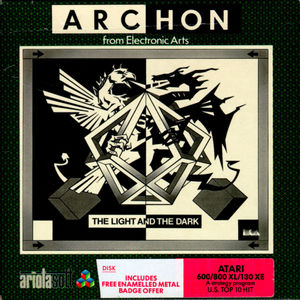 Cover for Archon: The Light and the Dark.