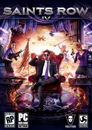 Cover for Saints Row IV.