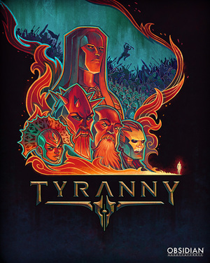 Cover for Tyranny.