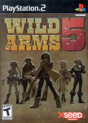 Cover for Wild Arms 5.