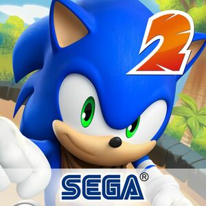 Cover for Sonic Dash 2: Sonic Boom.