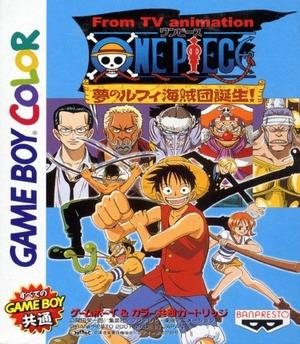Cover for One Piece: Yume no Luffy Kaizoku dan Tanjō!.