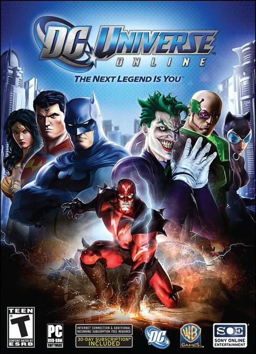 Cover for DC Universe Online.