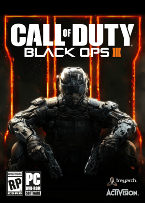 Cover for Call of Duty: Black Ops III.