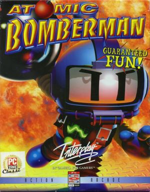 Cover for Atomic Bomberman.