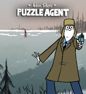Cover for Nelson Tethers: Puzzle Agent.