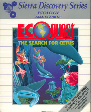 Cover for EcoQuest: The Search for Cetus.
