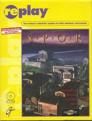Cover for SPQR: The Empire's Darkest Hour.