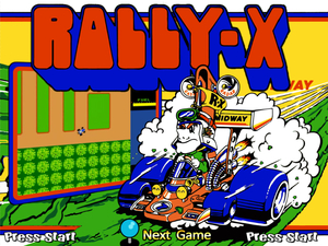 Cover for Rally-X.