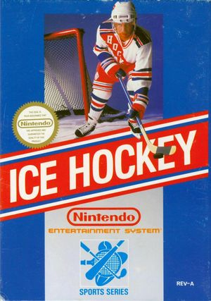 Cover for Ice Hockey.
