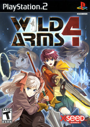 Cover for Wild Arms 4.