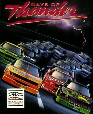 Cover for Days of Thunder.