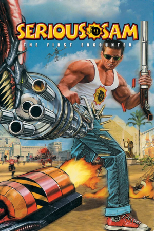 Cover for Serious Sam: The First Encounter.
