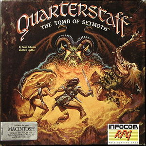 Cover for Quarterstaff: The Tomb of Setmoth.