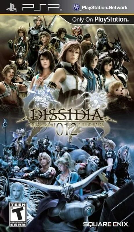 Cover for Dissidia 012 Final Fantasy.