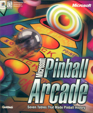 Cover for Microsoft Pinball Arcade.