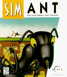 Cover for SimAnt.