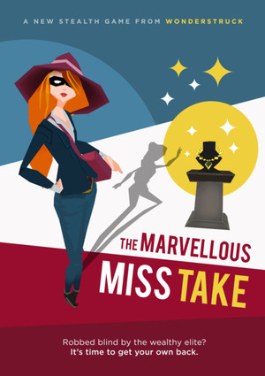 Cover for The Marvellous Miss Take.