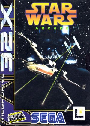Cover for Star Wars Arcade.