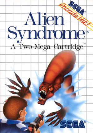 Cover for Alien Syndrome.