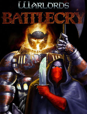 Cover for Warlords Battlecry.