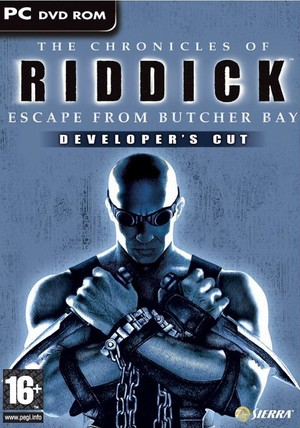 Cover for The Chronicles of Riddick: Escape from Butcher Bay.