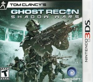 Cover for Tom Clancy's Ghost Recon: Shadow Wars.