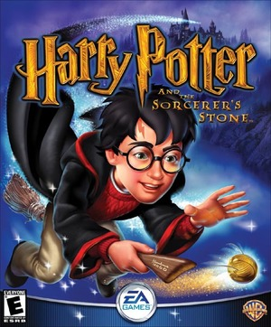 Cover for Harry Potter and the Philosopher's Stone.
