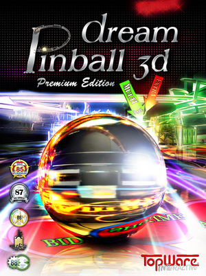 Cover for Dream Pinball 3D.