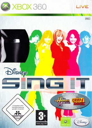 Cover for Disney Sing It.