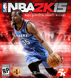 Cover for NBA 2K15.