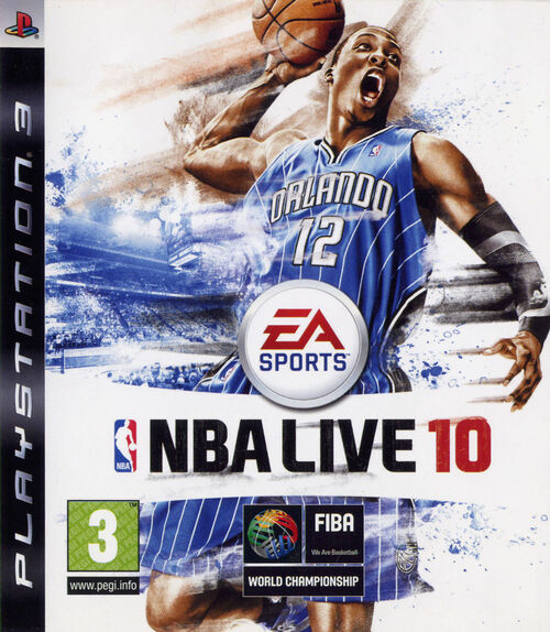 Cover for NBA Live 10.