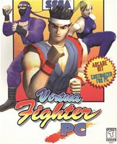 Cover for Virtua Fighter.