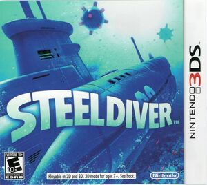 Cover for Steel Diver.