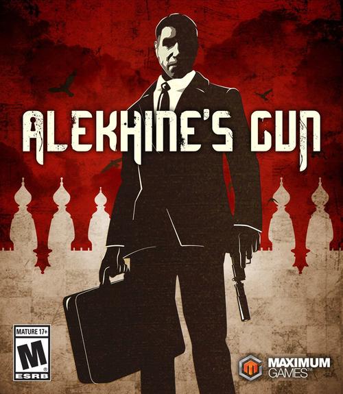 Cover for Alekhine's Gun.