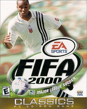Cover for FIFA 2000.