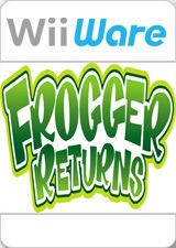Cover for Frogger Returns.