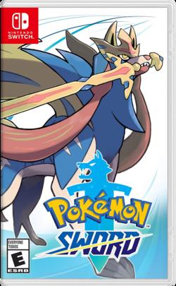 Cover for Pokémon Sword.