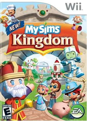 Cover for MySims Kingdom.