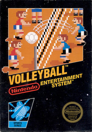 Cover for Volleyball.
