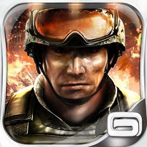 Cover for Modern Combat 3: Fallen Nation.