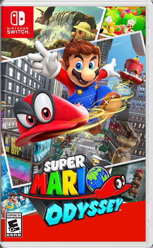 Cover for Super Mario Odyssey.