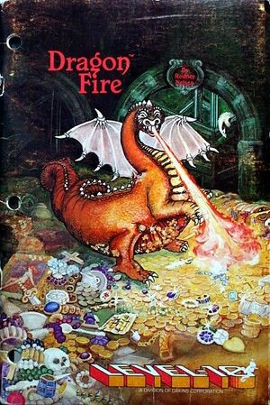 Cover for Dragon Fire.