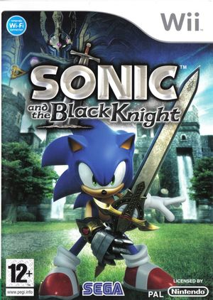 Cover for Sonic and the Black Knight.