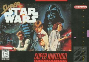 Cover for Super Star Wars.