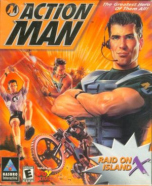 Cover for Action Man: Raid on Island X.
